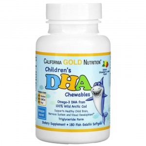 California Gold Nutrition Children's DHA Chewables