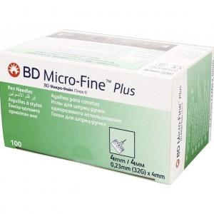 Інсулінові голки BD Micro-Fine 4 мм