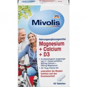 Mivolis Magnesium Calcium D3